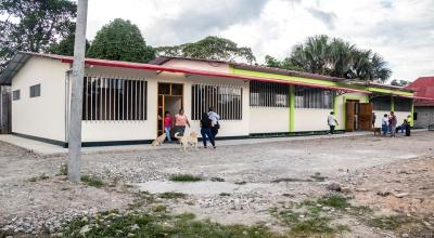 MUNICIPIO DE TOCACHE INAUGURA LOCAL COMUNAL MULTIUSO
